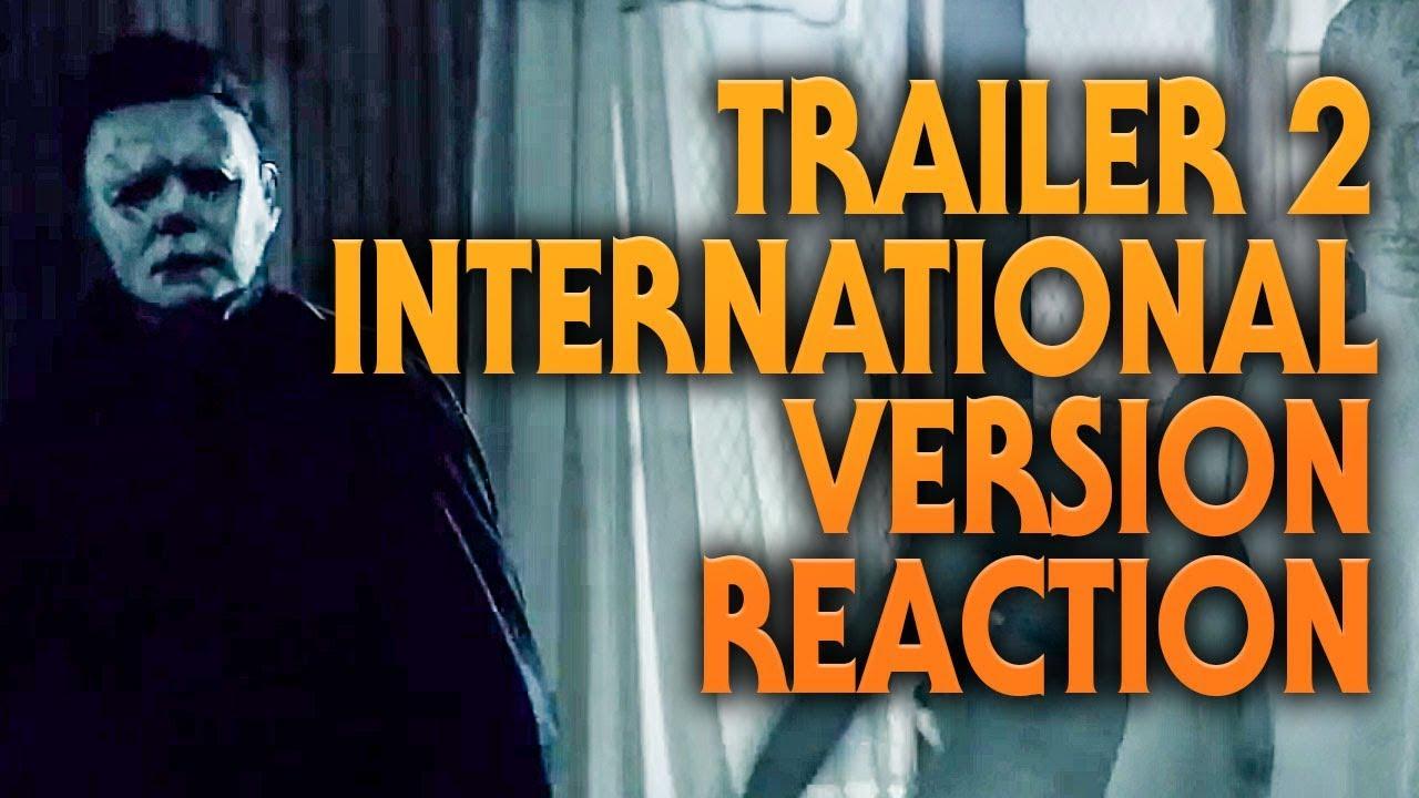 Halloween (2018) Trailer 2 (International Version) Reaction