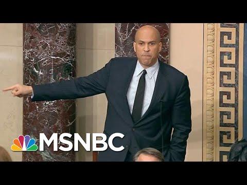 Sen. Booker Condemns Capitol Riot, Ties Mob To The Confederacy | MSNBC