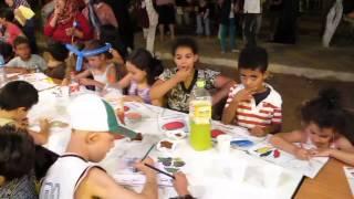 une soirée éducative avec les enfants de cité Malki fi j