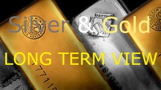 SILVER AND GOLD LONG TERM VIEW