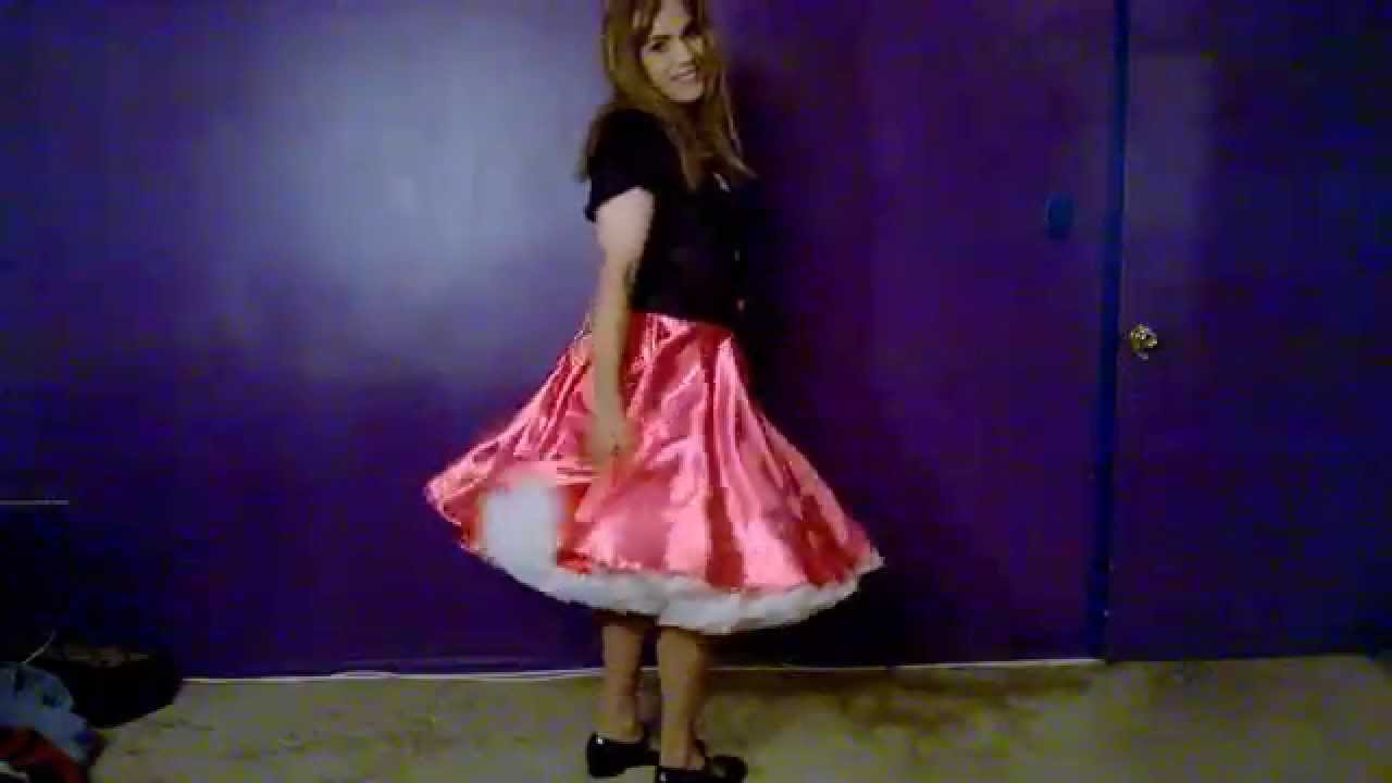Girl in poodle skirt sex