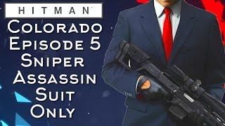 Hitman Colorado Sniper Assassin Suit Only Episode 5 (Hitman 2016)