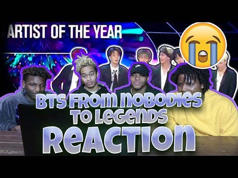 BTS // FROM NOBODIES TO LEGENDS 2013 - DEC 2017 - REACTION | Creating Armys!