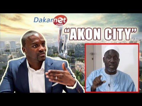 URGENT Imam kanté -Na Akon léral askan wi ci projet bi '' AKON CITY ''
