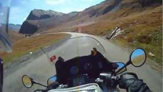 Alpine Motorbike Routes - Col de l'Iseran French Alps South Ramp.wmv
