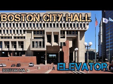 Boston City Hall Elevator - Boston MA