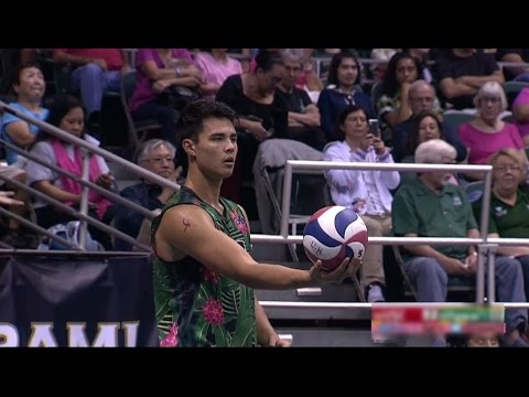 Hawaii Warrior Men's Volleyball 2017 - Rematch: #4 Hawaii Vs #14 USC