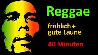Reggae - fröhliche gute Laune Musik (16 Songs, 40 Minuten, Instrumental Music-Mix)