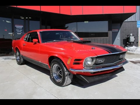 """1970 Ford Mustang Mach 1 """"Q"""" Code For Sale"""