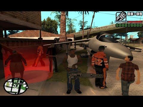 GTA San Andreas - How To Take Hydra From Beginning NO CHEATS