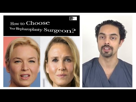 How to Choose Your Blepharoplasty Surgeon?