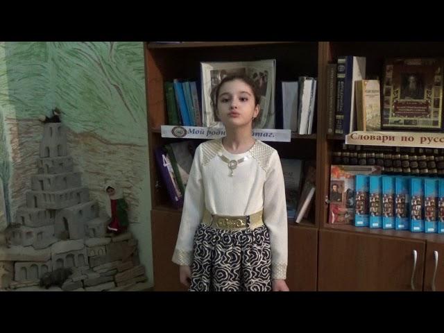 Изображение предпросмотра прочтения – ЭльмираАбдуллабекова читает произведение «Учитель» А.А.Блока