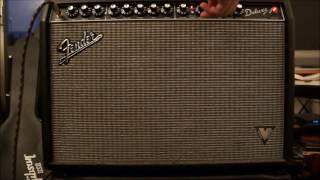 FENDER DELUXE VM 40 AMP DEMO  + GIBSON LP STANDARD