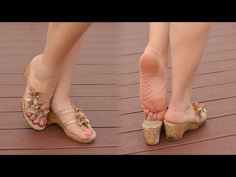 Mature feet photos