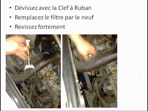 faire sa vidange sur une renault making his drain on a renault youtube. Black Bedroom Furniture Sets. Home Design Ideas