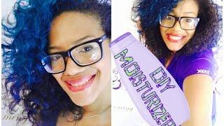 diy natural hair moisturizer lotion recipe becoming beauty salon queen vii