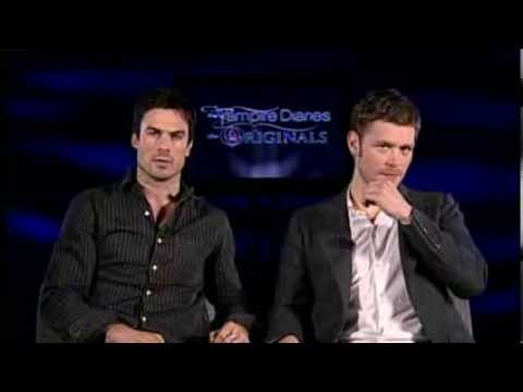 FOX59 interview with Ian Somerhalder and Joseph Morgan