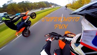 SUPERMOTO LIFESTYLE - KTM SMC 690