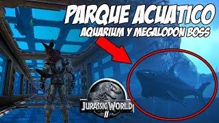 ARK SEA PARK! AQUARIUM MARINE ENCLOSURES AND MARINE COLOSSEUM JURASSIC WORLD 2 ARK PARK