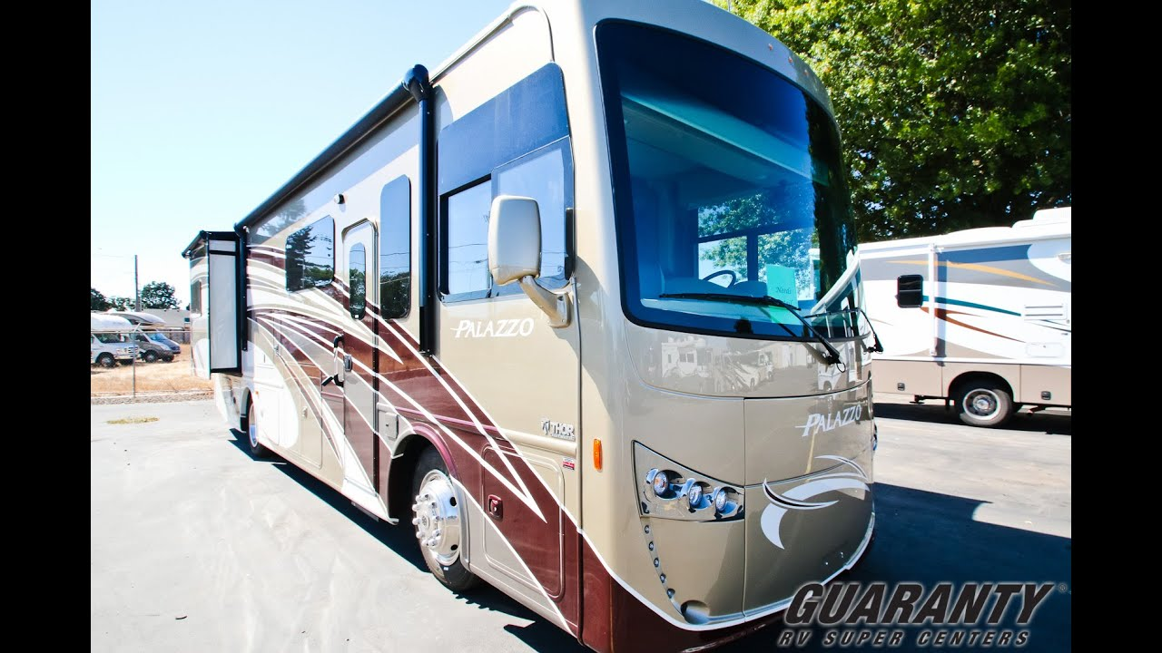 2017 Thor Palazzo 33.2 Class A Diesel Motorhome Video Tour