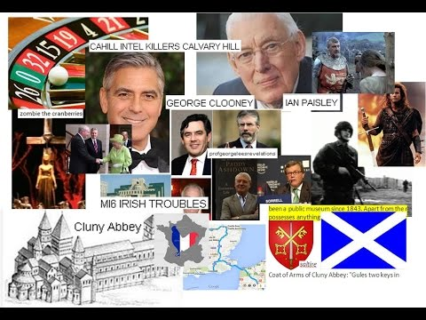 Religions3, George Cluny Fr mafias Ian Paisley & Rape Murder of Bravehearts Lover CHARLEMAGNE