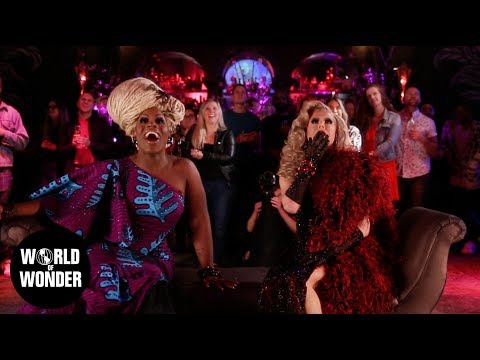 RuPaul's Drag Race All Stars 4 LIVE Crowning Reaction