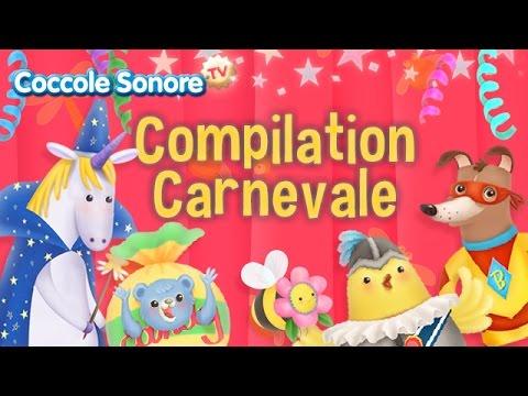 Compilation Carnevale - Musica per le feste - Canzoni  per bambini di Coccole Sonore