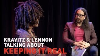 How does Lenny Kravitz manage to stay grounded? Video