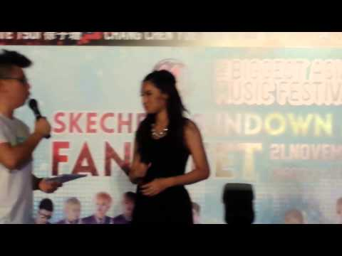 Sundown Festival Fanmeet in Singapore 2014 - Kate Tsui 徐子珊 (1/2)