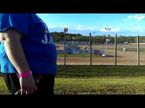 Eagle Valley Speedway 2017 Heat Winner #7R Tommy Richards