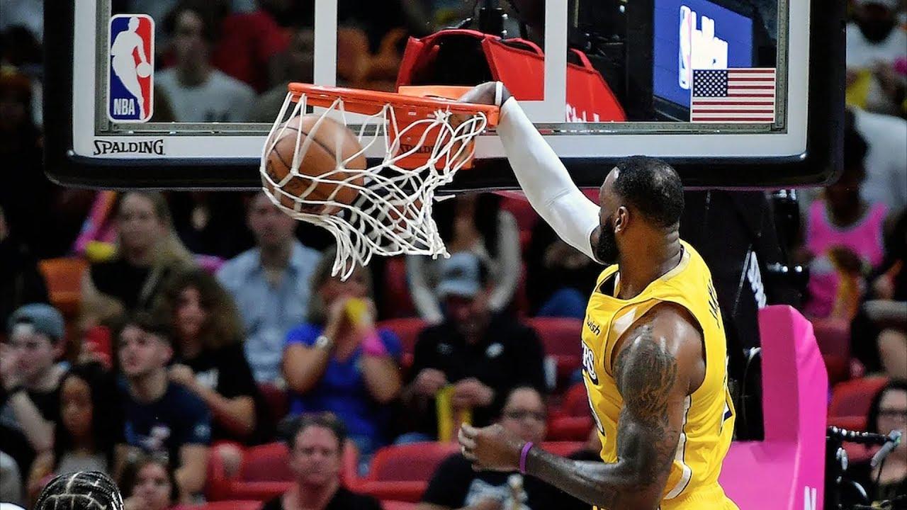 Lakers Give Heat 1st Home Loss of Season! 2019-20 NBA Season