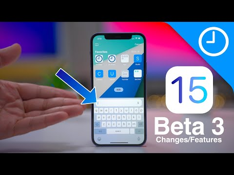 iOS 15 beta 3 Changes / Features - Safari Tweaks!