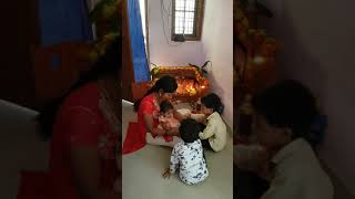 Rakhi festival devi karthik sehwag