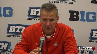 Ohio State Buckeyes Football: Urban Meyer after win versus Penn State