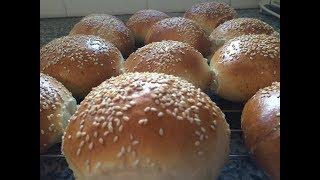 הכנת בצק שמרים ללחמניות וחלות והכנת לחמניות-how to make a adough for buns and halla