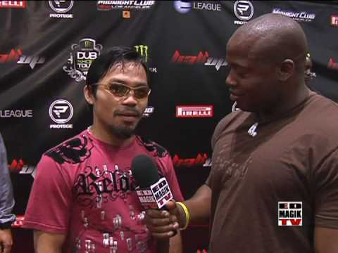 Manny Pacquiao at THE DUB SHOW TOUR 09 Red Carpet