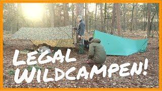 KOSTENLOSER Natur-Campingplatz mit Feuerstelle - Chaamse Bossen 2