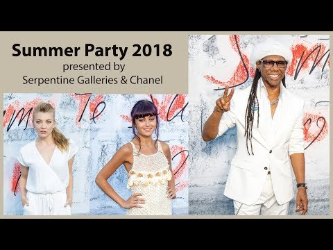 The Summer Party 2018 presented by Serpentine Galleries & Chanel