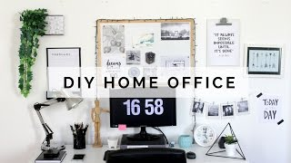 3 Projetos DIY para o seu Home Office - Tutorial passo-a-passo | Marina Araújo
