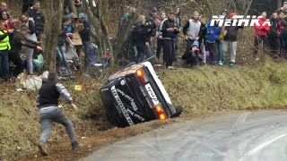 Rally Sprint Felsőnyárád - Sajókaza 2014 | Crashes...