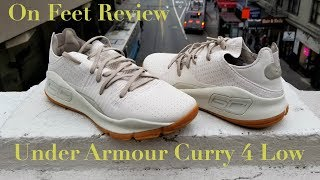 On Feet Review Under Armour Curry 4 Low アンダーアーマーカリー4