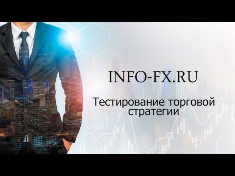 Тестирование торговой стратегии Форекс