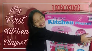 Unboxing My First Kitchen Playset