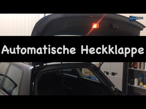 go simply heckklappen ffner automatische heckklappe test beispiel audi a4 b6 youtube. Black Bedroom Furniture Sets. Home Design Ideas