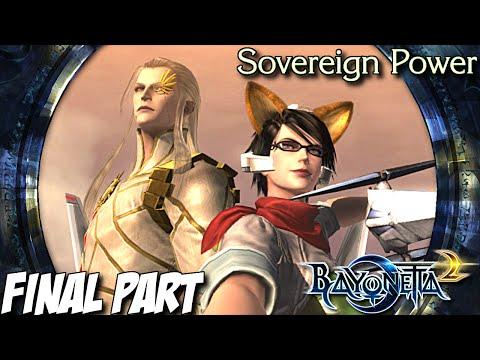 Bayonetta 2 Gameplay Walkthrough Part 17 - Sovereign Power - Nintendo Wii U (Final)