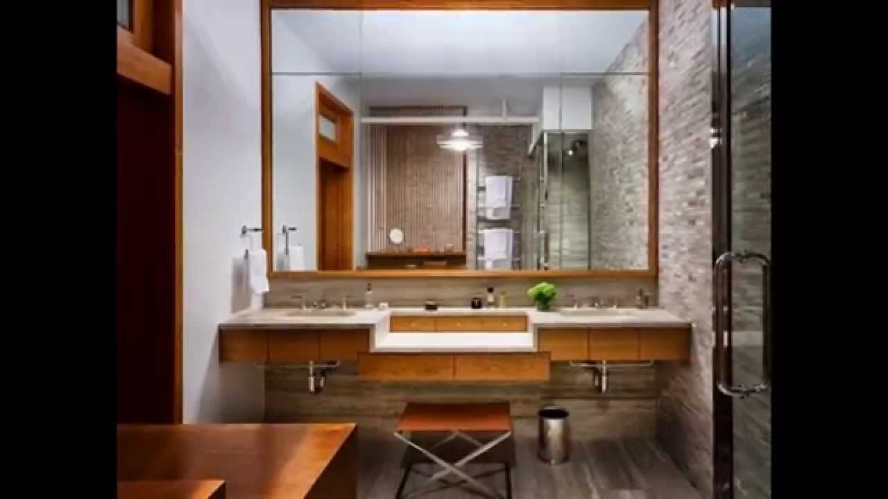 Bathroom Mirror Frame Ideas - YouTube