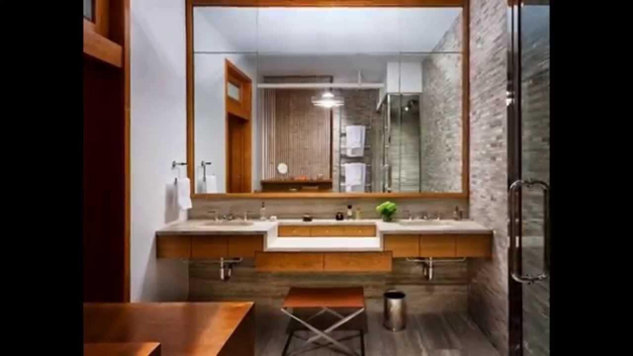 Bathroom Mirror Frame Ideas - YouTube