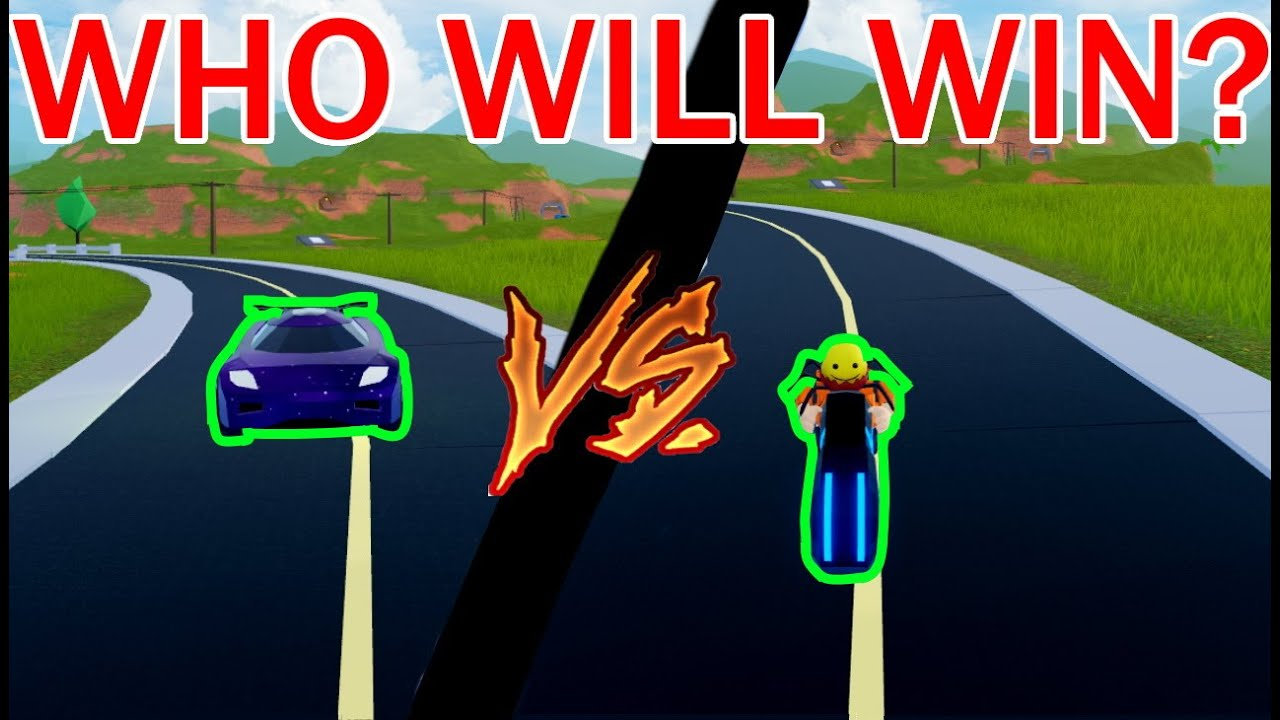 Can The Torpedo Beat The Volt Bike Roblox Jailbreak Youtube
