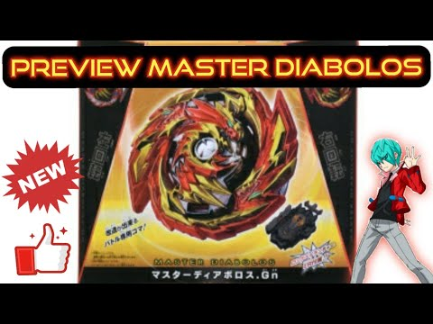 Preview Master Diabolos | Reversible Master Layer \u0026 Centrifugal Force Generate Driver [Takara Tomy]