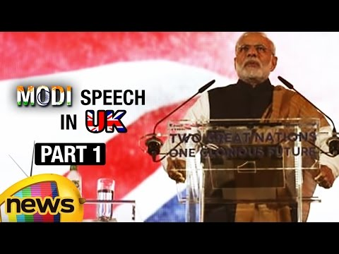 PM Narendra Modi Speech At Wembley Stadium | Part 1 | Mango News